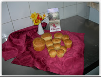 an example of typical Umbrian cuisine - the cake pasqualina