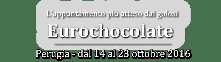 scritta eurochocolate 2016