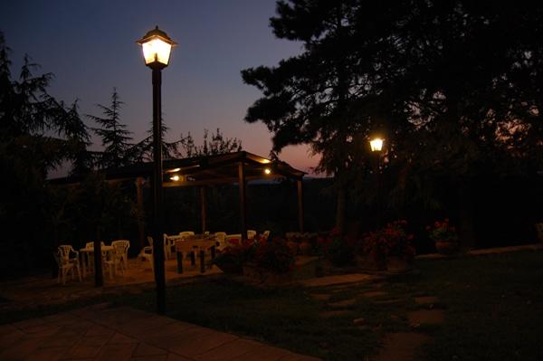 Suggestioni romantiche alla luce del tramonto