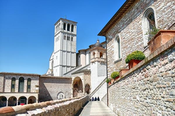 Scorcio della città di Assisi
